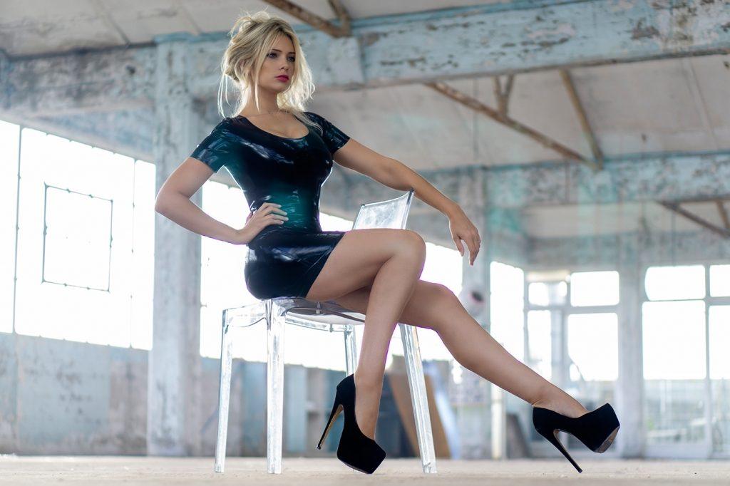 Affordable Latex Liyana Dress