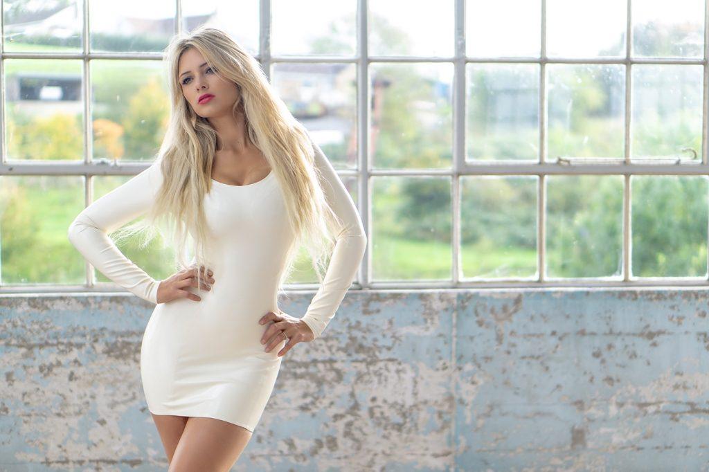 Affordable Latex Tita Dress