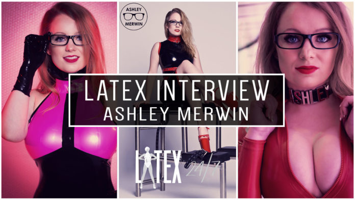 Interview with Latex Fashion Model Ashley Merwin Header