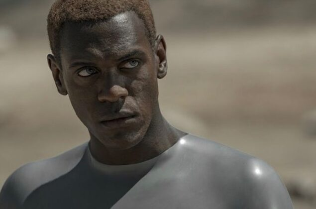 HBO Max Series Raised by Wolves Latex Fashion Abubakar Salim