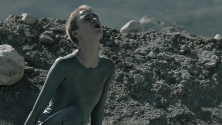 HBO Max Series Raised by Wolves Latex Fashion Amanda Collin