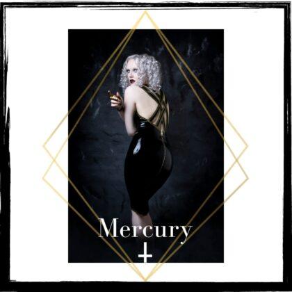 Seven Sin Latex Fashion Bullion Collection Mercury Dress