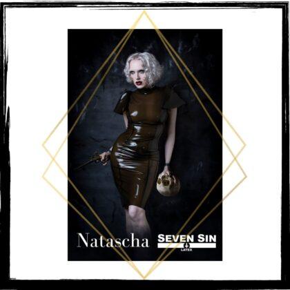 Seven Sin Latex Fashion Bullion Collection Natascha Dress