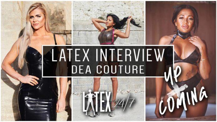 Dea Couture Latex Fashion Interview Header