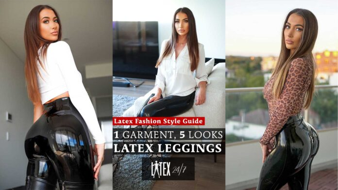 Latex Fashion Clothing Style Guide Latex Leggings StephJC