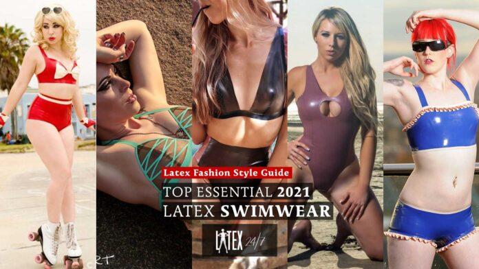 Essential Latex Beachwear 2021 Latex Fashion Bikini Swimwear Latex Fashion How To Style Guide