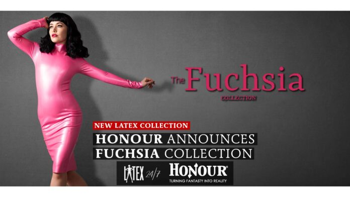 Honour Latex Clothing Announce New Fuschia Latex Fashion Collection