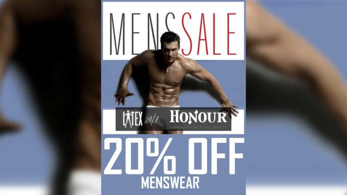 Honour Latex Menswear Latex Fashion Clothing Flash Sale